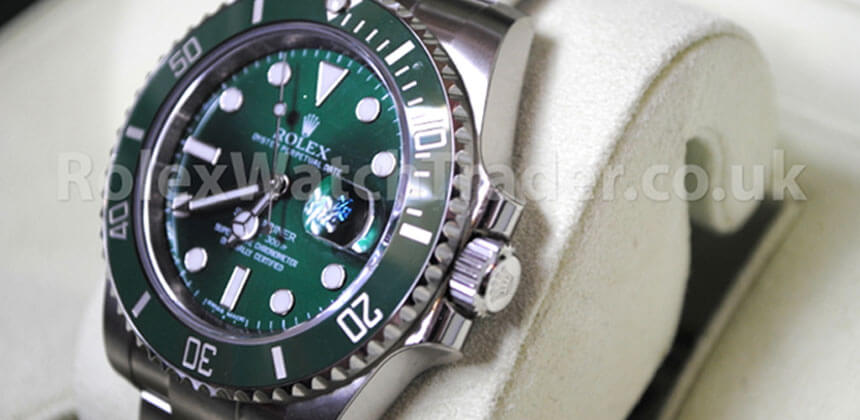 Bought By Rolex Watch Trader – The Hulk