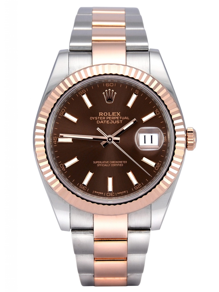Front view of Rolex Datejust II 126331