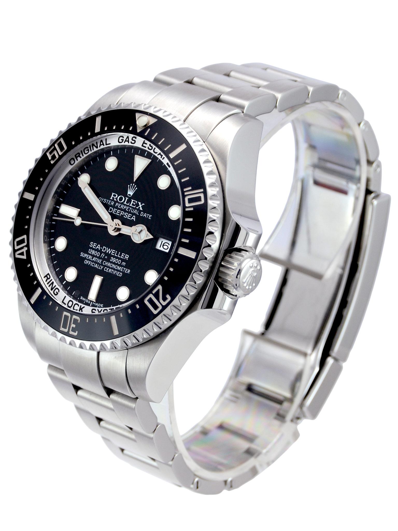 Buy Second Hand Rolex Sea-Dweller Deepsea 116660 • 2016