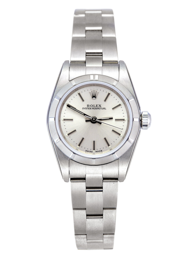 New old stock Rolex Oyster Perpetual 76030 (front view)