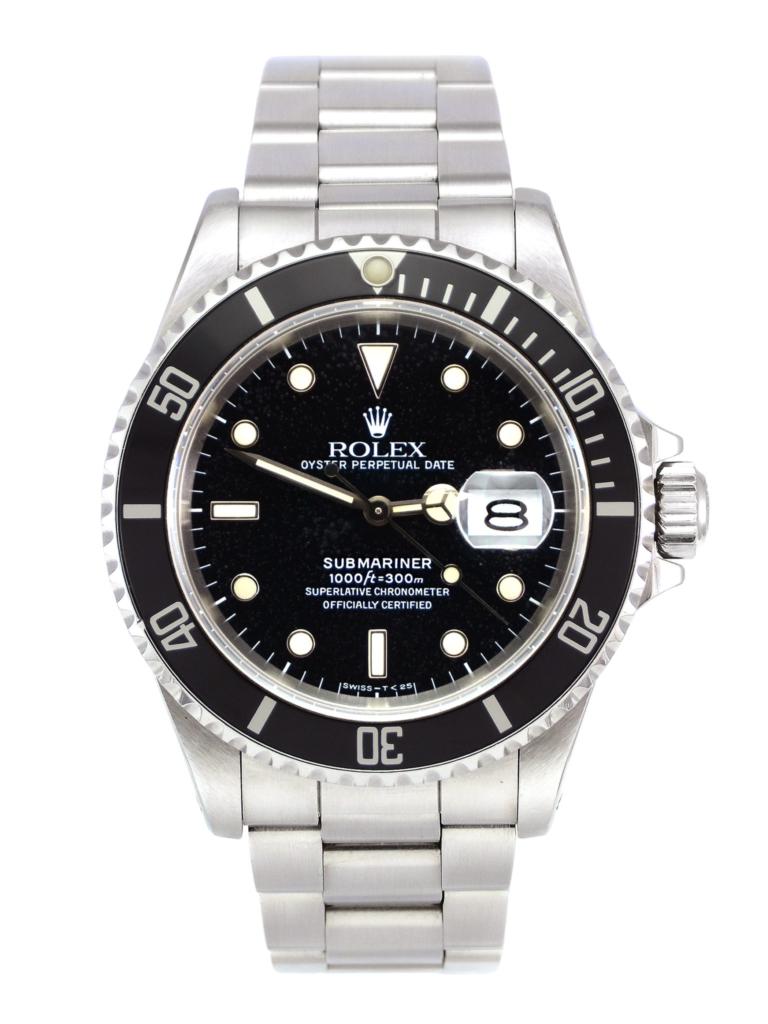 "Rolex Submariner Date 16610 ""Spider Dial"""