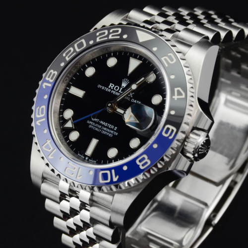 Rolex GMT-Master II 126710BLNR March 2020 Batman Batgirl Jubilee