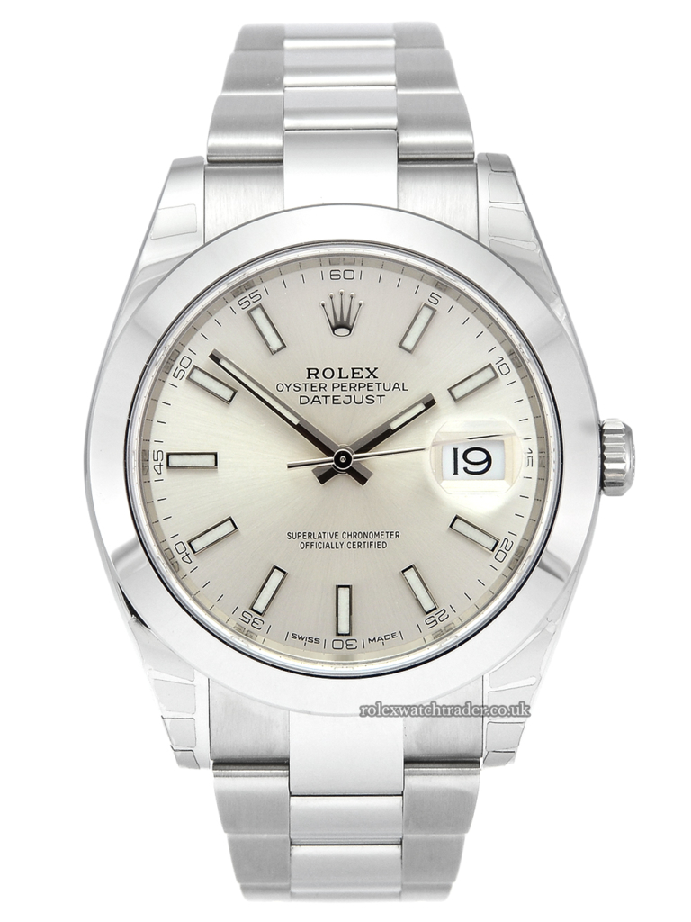 Rolex Datejust 41 126300 Silver Dial Unworn