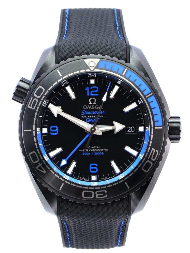 Omega Seamaster Planet Ocean GMT Deep Black