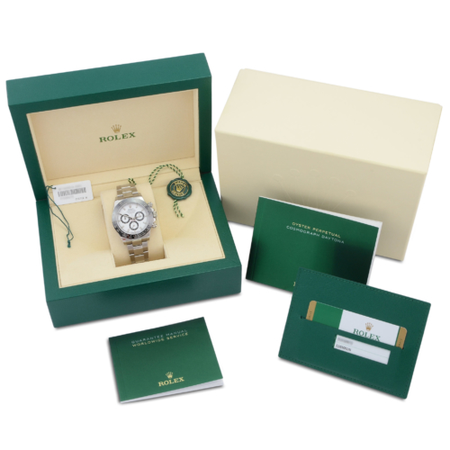 Rolex Daytona 116500LN Ceramic 2020 White Dial
