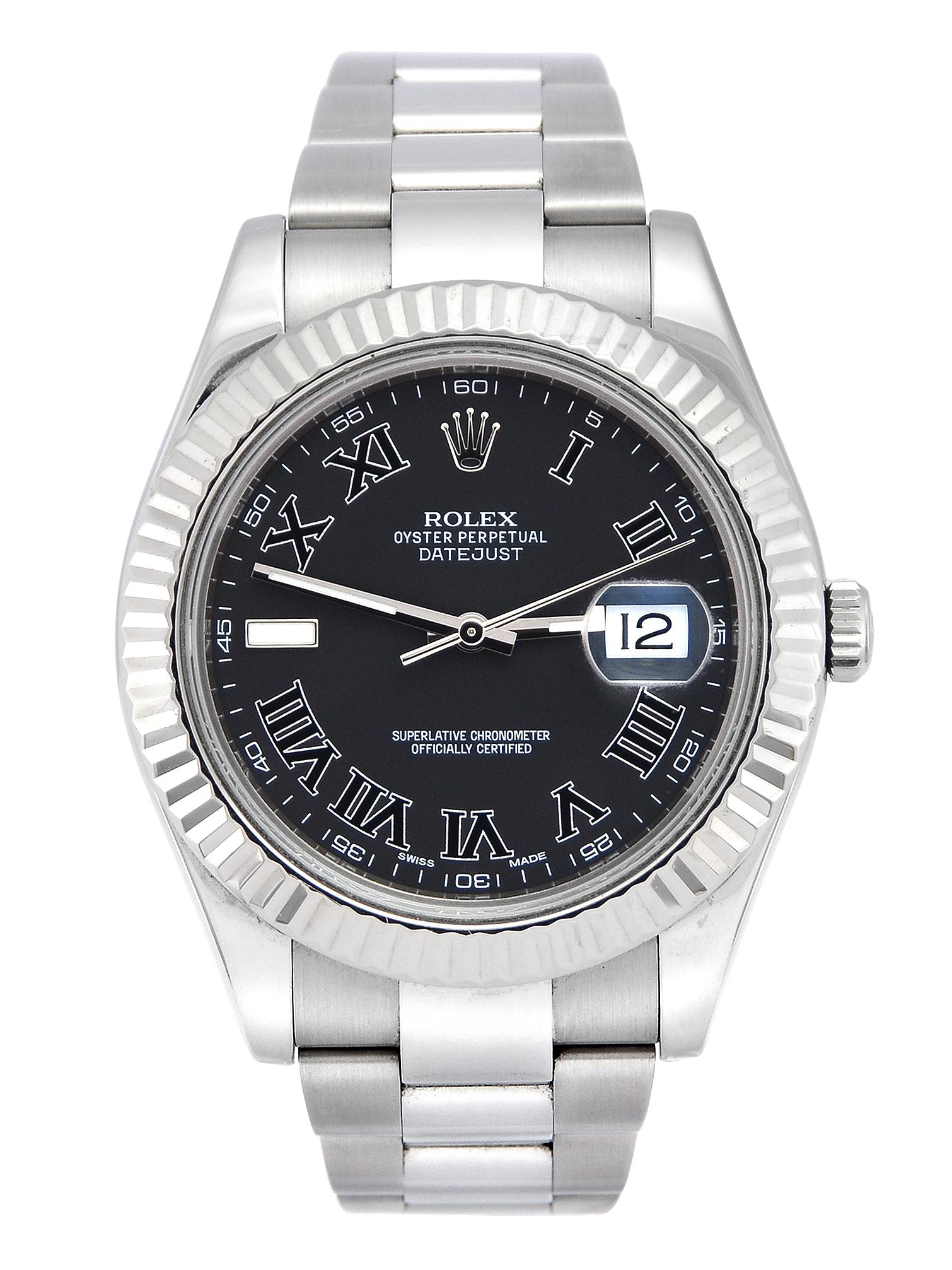 Buy Rolex Datejust II 116334 Golf Trophy • Rolex Watch Trader
