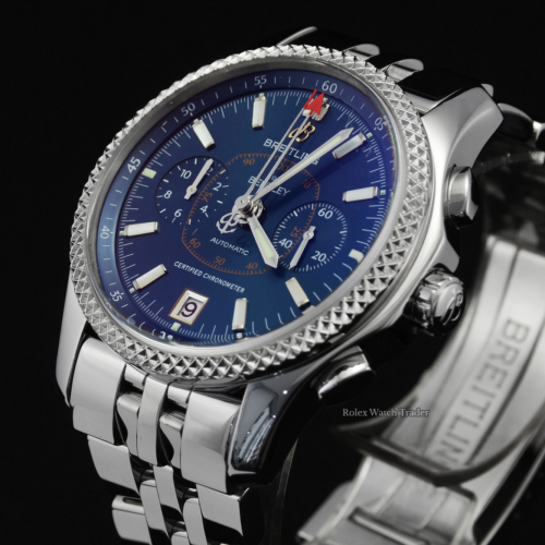 Breitling Bentley Mark VI P263621/C707 Blue Dial