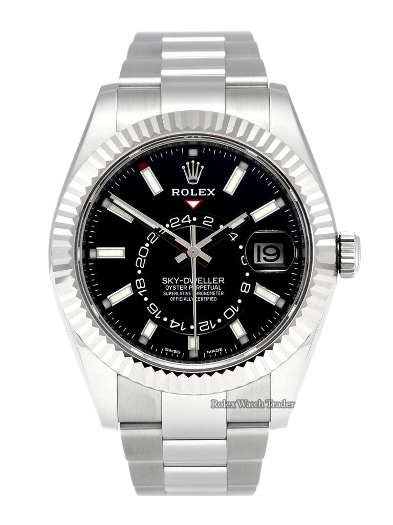 Rolex Sky-Dweller 326934 Black Dial Late 2019