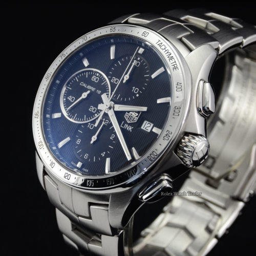 TAG Heuer Link Calibre 16 CAT2010 Stainless Steel CAT2010.BA0952
