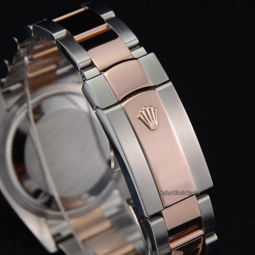 Rolex Datejust Turn-O-Graph 116261 36mm White Dial Bimetal