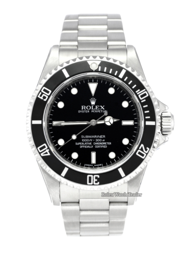 Rolex Submariner (No Date) 14060M SERVICED BY ROLEX with Stickers