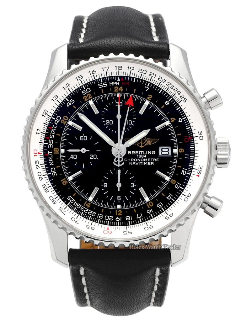 Breitling Navitimer World A24322 Black Dial