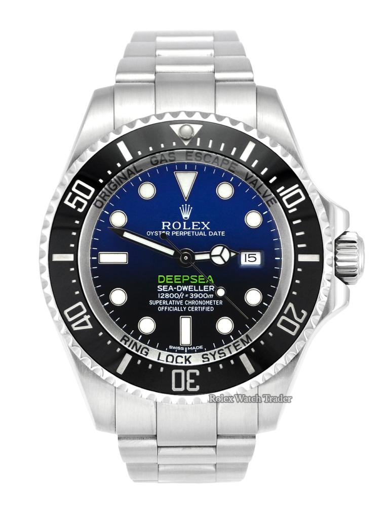 Rolex Sea-Dweller Deepsea 116660 James Cameron D-Blue 2015