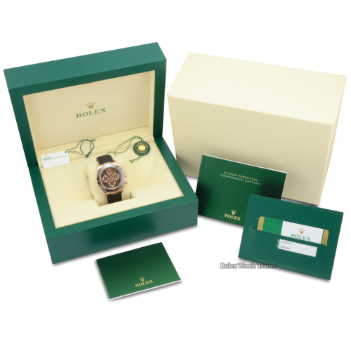 Rolex Daytona 116515LN Oysterflex Chocolate Arabic Numeral