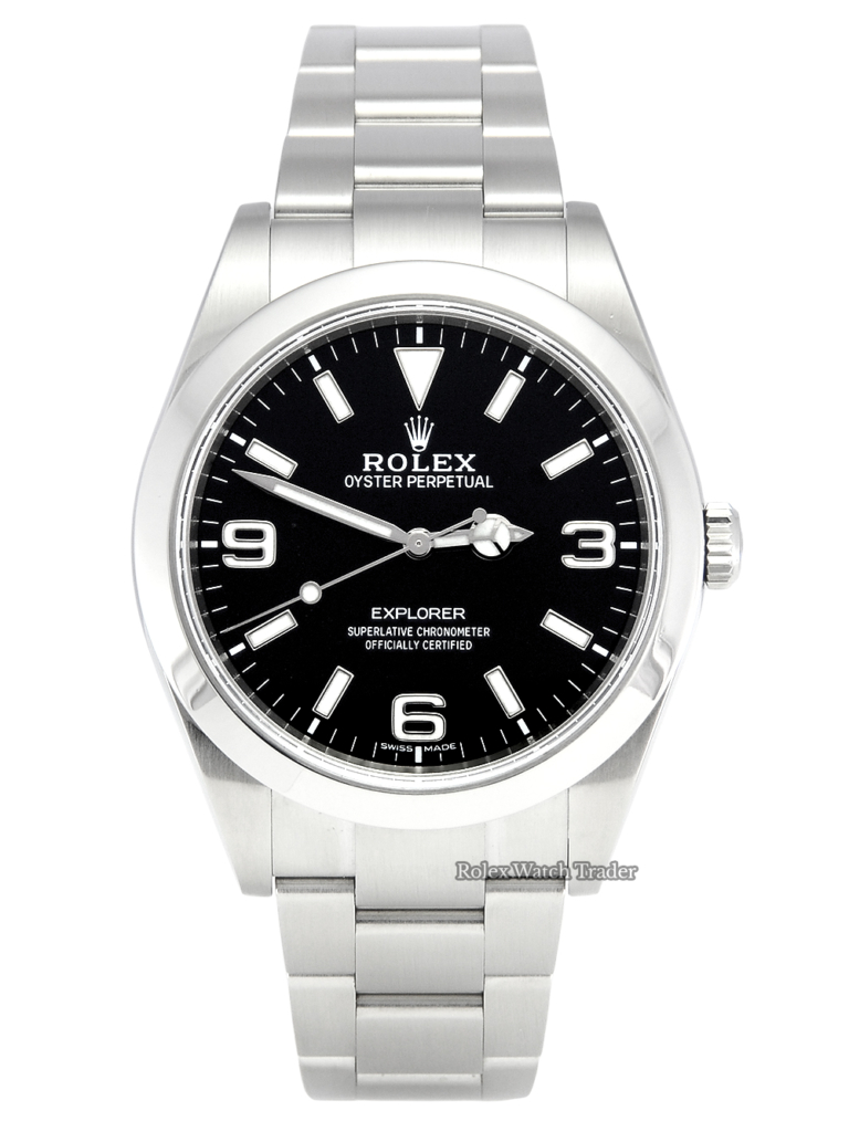 Rolex Explorer 1 214270 MK2 Black Dial