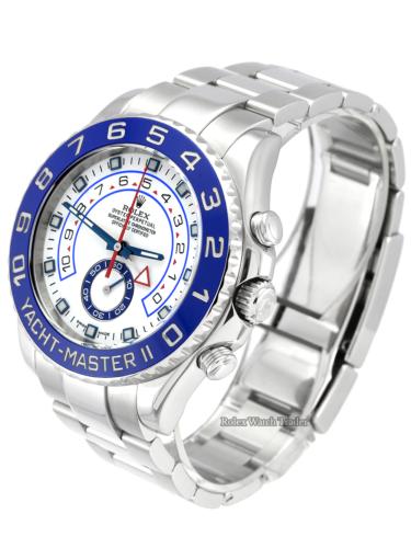 Rolex Yacht-Master II 116680 Blue Bezel Stainless Steel