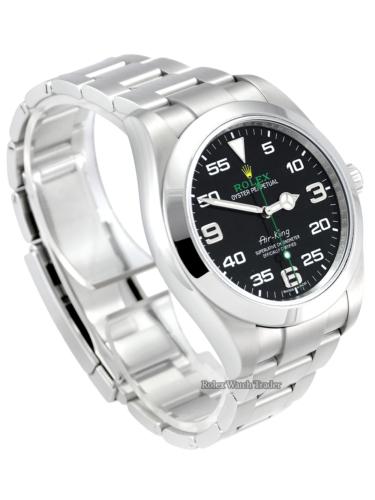 Rolex Air-King 116900 40mm Black Dial