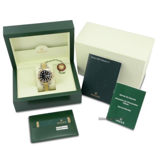 Rolex GMT-Master II 116713LN Bi-Metal Black Dial