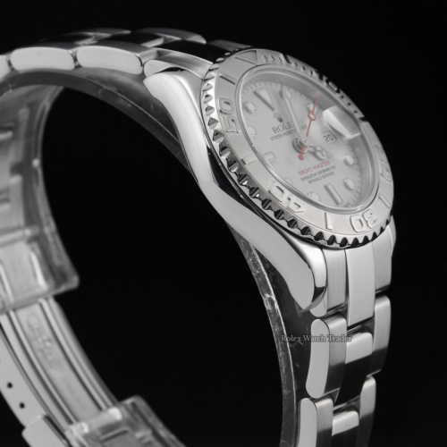 Rolex Yacht-Master 169622 Silver 29mm P-Serial Buy Pre-Owned For Sale