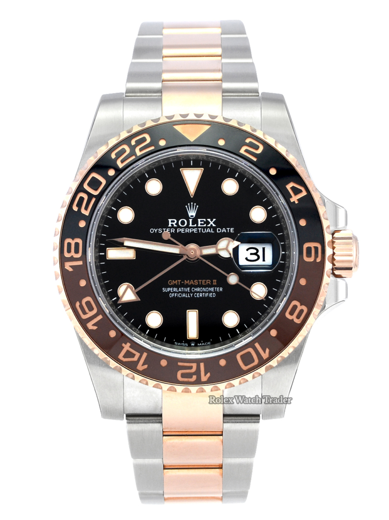 Rolex GMT-Master II 126711CHNR Root Beer Rootbeer Unworn For Sale Buy Pre-Owned