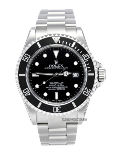 Rolex Sea-Dweller 16600 SERVICED BY ROLEX June 2020 with Stickers
