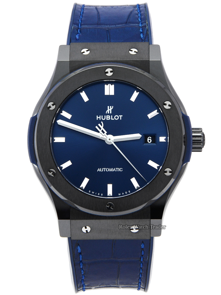 Hublot Classic Fusion Blue 542.CM.7170.LR Ceramic 42mm
