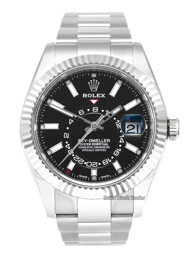 Rolex Sky-Dweller 326934 Black Dial 2020 July New Style Card