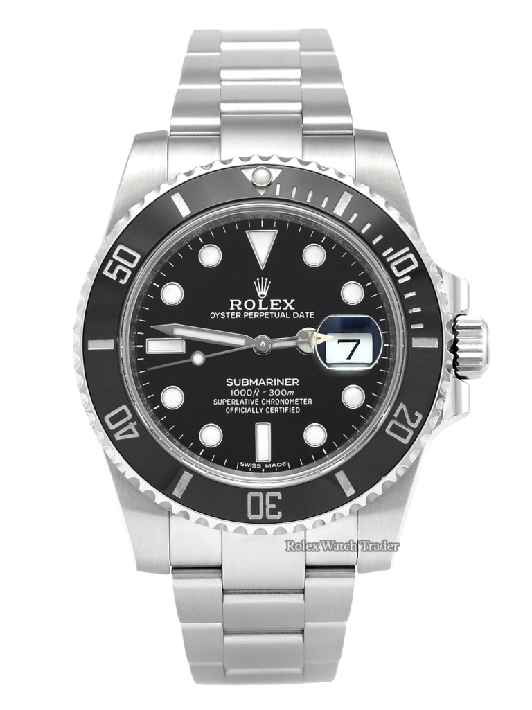 Rolex Submariner Date 116610LN Black Box & Papers Late 2018 For Sale Second Hand UK