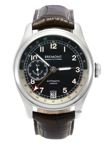 Bremont H-4 Hercules Limited Edition 027/300 + Extra Crocodile Leather Strap Unworn Available Today UK
