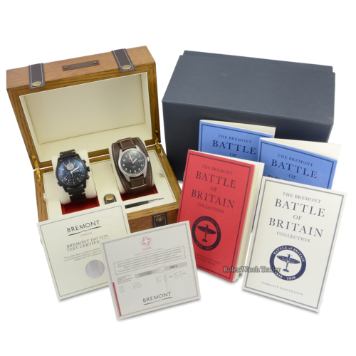 Bremont The Battle Of Britain Collection Two Watch Limited Edition Set 54/80 Unworn
