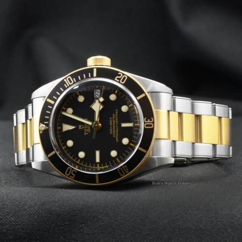 Tudor Black Bay S&G Heritage 79733N Steel & Gold Pre-Owned 2019 Mint Excellent Condition For Sale Today from Manchester's Most Trusted Watch Trader