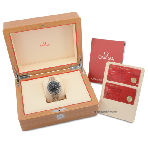 Omega Co-axial Chronograph Speedmaster 38mm 324.30.38.50.01.001 UK 2019 For Sale Pre-Owned Previously Owned