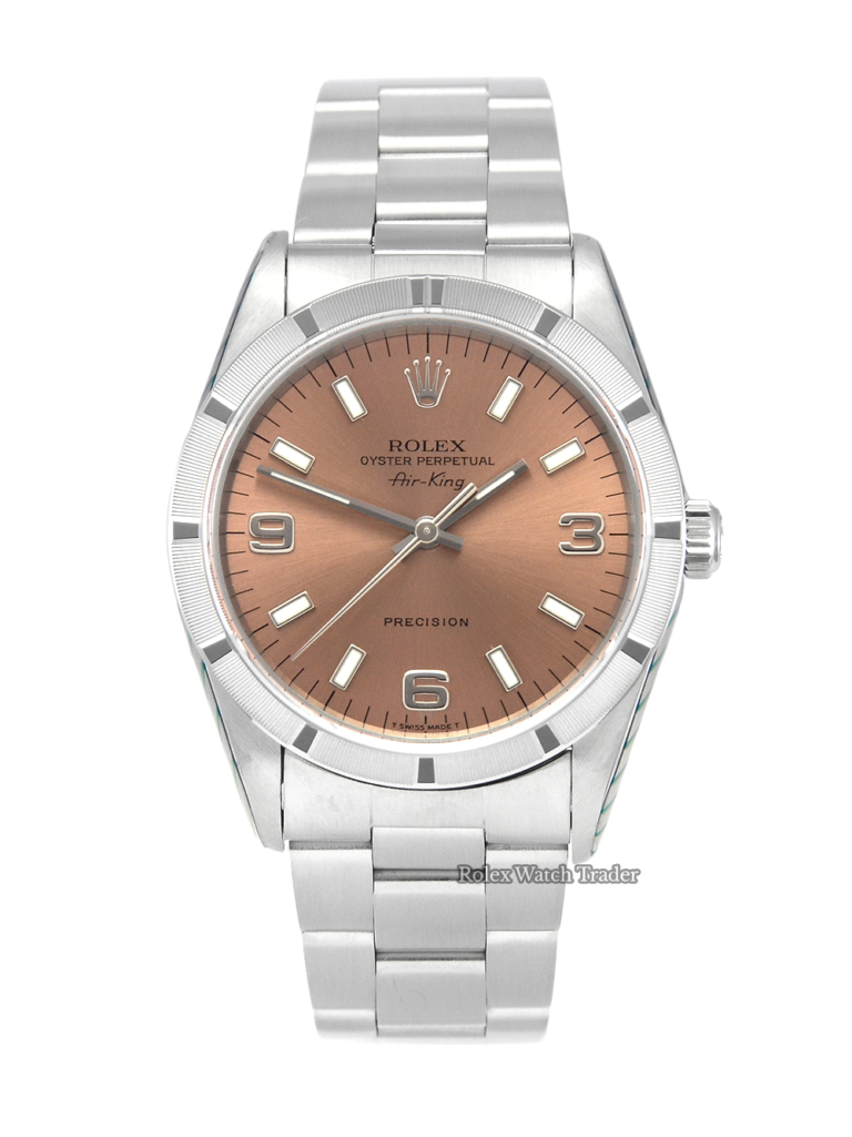 Rolex Air-King 14010 Serviced by Rolex August 2020 Pre-Owned in Mint Condition For Sale Available to Purchase Today Second Hand