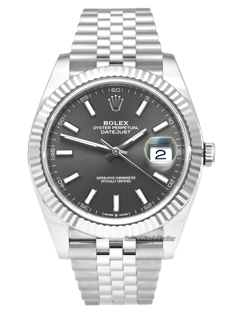 Rolex Datejust 126334 Rhodium Dial 2020 New Style Card Pre-Owned For Sale August 2020 Like New Available Today To Purchase From Manchester UK