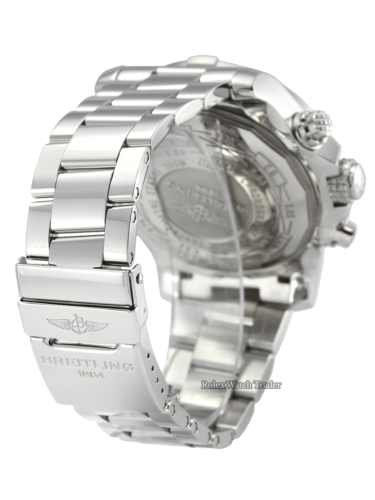 Breitling Super Avenger II A13371111B1A1 48mm Stainless Steel Men's Watch For Sale Available Purchase Online with Part Exchange or Direct Sale Manchester North West England UK Great Britain Buy Today Pre-Owned Second Hand Used