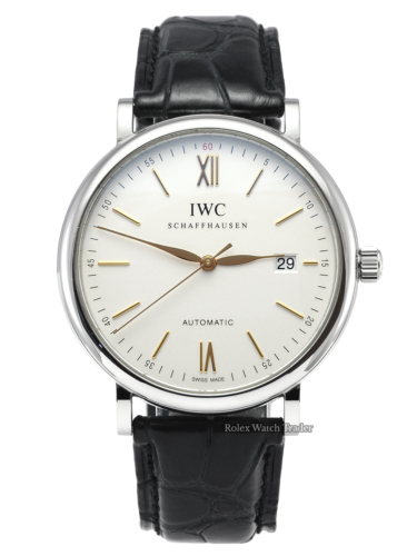 IWC Portofino Automatic IW356517 Silver Dial 40mm For Sale Available Purchase Online with Part Exchange or Direct Sale Manchester North West England UK Great Britain Buy Today
