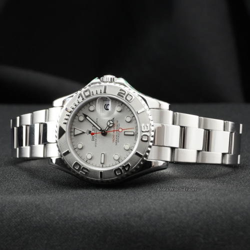 Rolex Yacht-Master 168622 35mm SERVICED BY ROLEX with Stickers For Sale Available Purchase Online with Part Exchange or Direct Sale Manchester North West England UK Great Britain Buy Today
