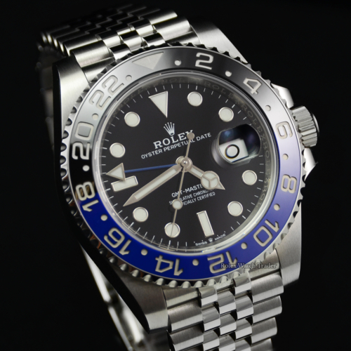Rolex GMT-Master II 126710BLNR New Style Card Batman / Batgirl 2020 Unworn Brand New Excellent Condition For Sale Available Purchase Online with Part Exchange or Direct Sale Manchester North West England UK Great Britain Buy Today