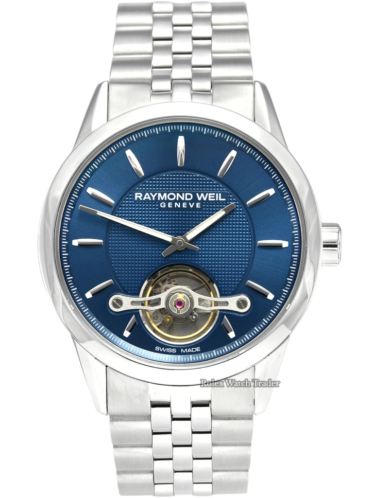 Raymond Weil Freelancer 2780-ST-50001 Unworn 2020 Brand New For Sale Available Purchase Buy Online with Part Exchange or Direct Sale Manchester North West England UK Great Britain Buy Today Free Next Day Delivery Warranty