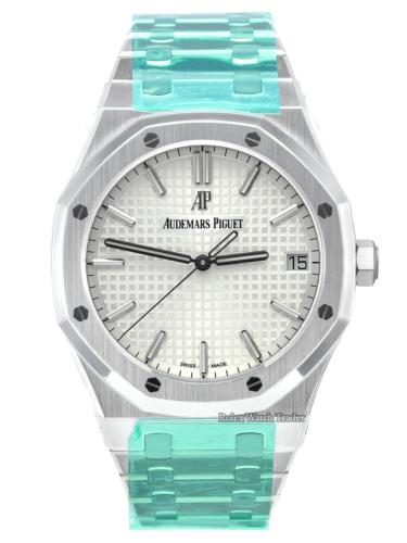 Audemars Piguet Royal Oak Selfwinding Unworn UK Complete November 2020 Stickers Brand New For Sale Available Purchase Buy Online with Part Exchange or Direct Sale Manchester North West England UK Great Britain Buy Today Free Next Day Delivery Warranty Luxury Watch Watches