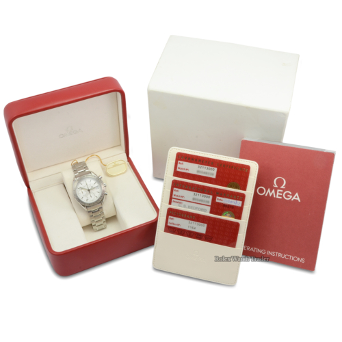 Omega Speedmaster Date 3211.30.00 UNWORN UK 2012 Factory Stickers Mint Pre-Owned Brand New Condition For Sale Available Purchase Online with Part Exchange or Direct Sale Manchester North West England UK Great Britain Buy Today
