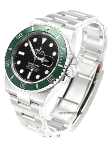 Rolex Submariner Date 126610LV Kermit Starbucks Fully Stickered Brand New Unworn Green Bezel Black Dial 2020 For Sale Available Purchase Buy Online with Part Exchange or Direct Sale Manchester North West England UK Great Britain Buy Today Free Next Day Delivery Warranty Luxury Watch Watches