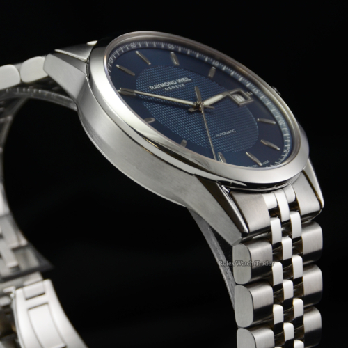 Raymond Weil Freelancer 2740-ST-50021 December 2020 Ex Display Model Pre-Owned Great Condition For Sale Available Purchase Buy Online with Part Exchange or Direct Sale Manchester North West England UK Great Britain Buy Today Free Next Day Delivery Warranty Luxury Watch Watches