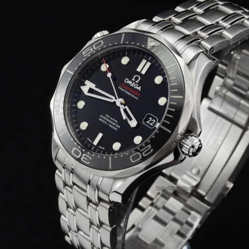 Omega Seamaster Diver 300M 212.30.41.20.01.003 41mm Black Pre-Owned Second Hand Used For Sale Available Purchase Buy Online with Part Exchange or Direct Sale Manchester North West England UK Great Britain Buy Today Free Next Day Delivery Warranty Luxury Watch Watches