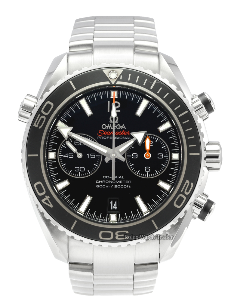 Omega Seamaster Planet Ocean Chronograph 232.30.46.51.01.001 600M Pre-Owned Second Hand Used PO For Sale Available Purchase Buy Online with Part Exchange or Direct Sale Manchester North West England UK Great Britain Buy Today Free Next Day Delivery Warranty Luxury Watch Watches
