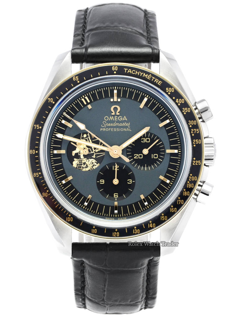 Omega Speedmaster Apollo 11 with Extra Strap 50th Anniversary 310.20.42.50.01.001 Moonwatch Professional with 3 Straps Bracelet Extra Leather Strap and Velcro Cork Strap Limited Edition For Sale Available Purchase Buy Online with Part Exchange or Direct Sale Manchester North West England UK Great Britain Buy Today Free Next Day Delivery Warranty Luxury Watch Watches