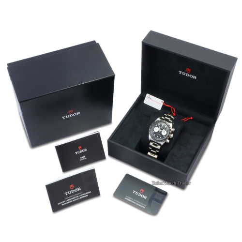 Tudor Black Bay Chrono 79360N Black Dial Unworn All Stickers New Release Instant Classic Black Aluminium Bezel Brand New For Sale Available Purchase Buy Online with Part Exchange or Direct Sale Manchester North West England UK Great Britain Buy Today Free Next Day Delivery Warranty Luxury Watch Watches