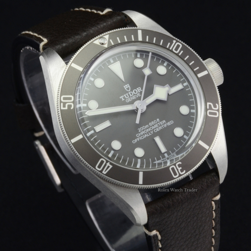 Tudor Black Bay Fifty-Eight 925 M79010SG Unworn Brand New Just Released Silver Case Taupe Grey Dial 2021 Leather Strap For Sale Available Purchase Buy Online with Part Exchange or Direct Sale Manchester North West England UK Great Britain Buy Today Free Next Day Delivery Warranty Luxury Watch Watches