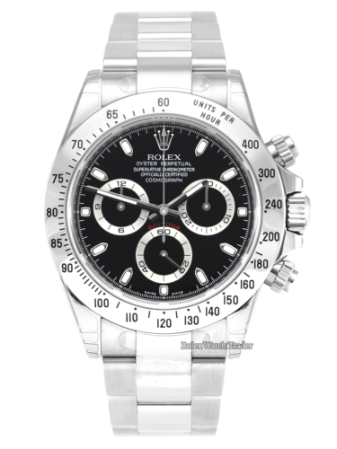 Rolex Daytona 116520 Black Dial NOS 2011 Full Stickers New Old Stock Black Dial Unused Unworn Original Rolex Protective Stickers For Sale Available Purchase Buy Online with Part Exchange or Direct Sale Manchester North West England UK Great Britain Buy Today Free Next Day Delivery Warranty Luxury Watch Watches
