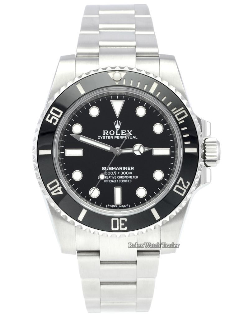 Rolex Submariner 114060 Non Date 2020 Black Ceramic UK Stainless Steel Black Bezel Non Date Sub Pre-Owned Sports Model Second Hand Used For Sale Available Purchase Buy Online with Part Exchange or Direct Sale Manchester North West England UK Great Britain Buy Today Free Next Day Delivery Warranty Luxury Watch Watches